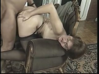 Sinfully beautiful chick lets an old man spoon her