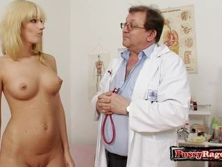 Insatiable gynecology therapist and my wifey