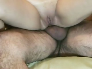 Awesome sideways anal sex with my mature latina wife