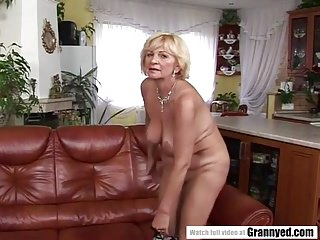 Granny loves coloured load of shit