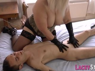 British grannie dominatrix rails and gets rear boinked