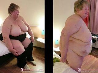 OmaGeiL Mature Latinas Striptease and macro shot