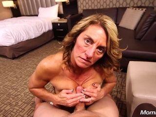 Sporty Mommy Takes Prick POV sex video