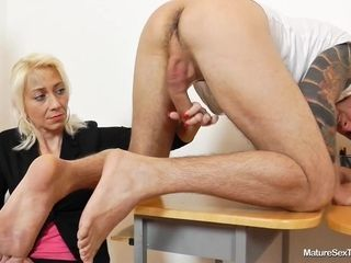 Mature Sex Teachers - handjob lesson