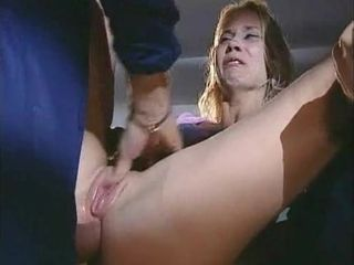 Vintage amateur MILF flashes her ass and gets fucked missionary style