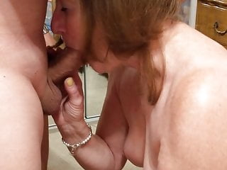 Cuckold's Wife Sucking Big Cock in 69