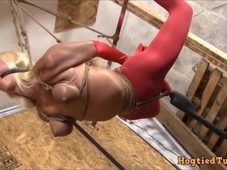 Strictly Suspended - Mature Model BDSM porn