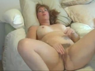 This mature slut loves going solo and I'd be trying to break my cock off in her