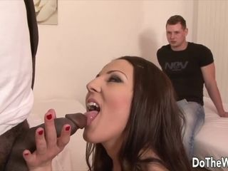 Do The Wife Wives Blowing Fat Black Dongs Next to Cuckolds Compilation 6