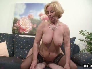 Oma und Opa ficken das erste mal im pornography fuer die Rente