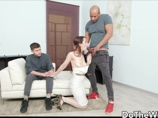 Sexy Mommy Di Devi Gets Pumped With a Black Strangers Sperm Next to Cuckold