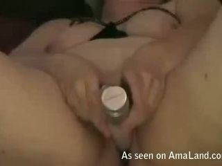 All she wants is to please herself with her favorite vibrator on camera