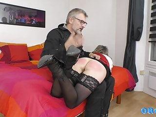 Kamilla's spanking