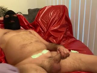 Mistress giving sub a Brazilian wax part 2