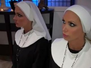 Nuns Honor Priest - Nikki Benz