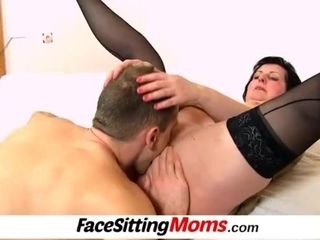 """""""Licking 50 years old pussy featuring stockings lady Tanya"""""""