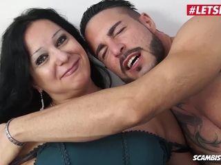 LETSDOEIT - lush Italian cougar porked stiff In Her very first porno vid