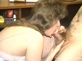 Antique homemade porno with a bitchy dark-haired wifey