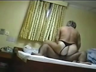 Curvaceous mature housewife rides my dick like a majestic slut