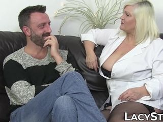 Medic Lacey Starr ass-fucked by notorious patient Pascal milky
