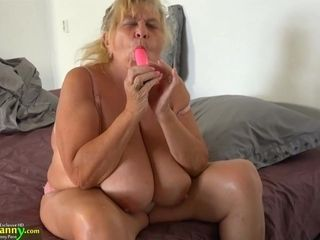 Barely legal Years senior nymph With strap dildo boinks Sbbws senior grandma