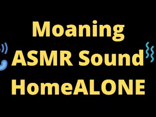 ASMR Masturbation Sounds Moaning Fingering Home Alone Afternoon Joy Yuhuuu