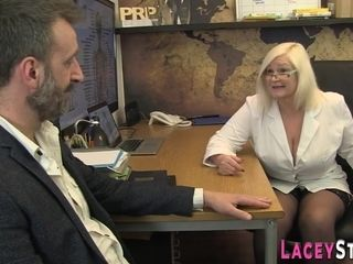 Mature Doctor Butt Screwed In Office