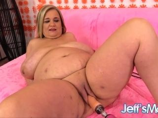 Good-sized Mature with Monster melons Cami Cooper Pleasured by a screwing Machine