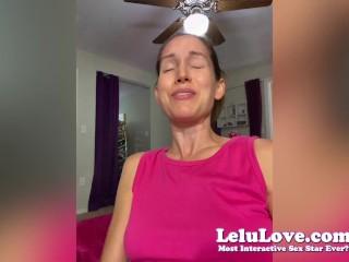 Lelu Love has FIRST orgasms since major surgery/operation plus leather leggings JOI & more!! :)