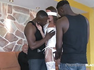 Personal ebony Swiss Politician wifey Caroline Tosca & three BBCs!
