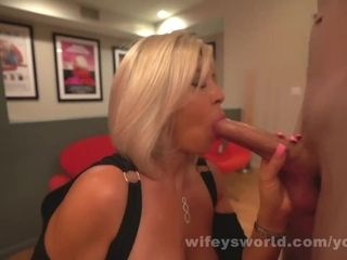 Wife deep throats Off A massive milky rod She Calls The Pipe