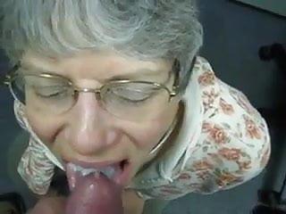 Grandma munch my jism