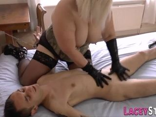 British grannie domme rails and gets bum humped