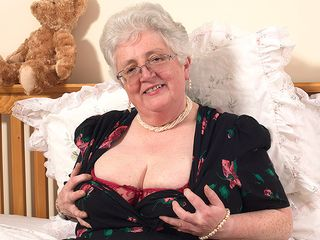 Grannie what good-sized titties and a muddy mind you have