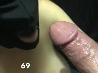 Hooded cougar sixty nine incredible suck off