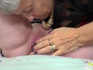 OldNannY Lily May and Savana girl/girl sequences