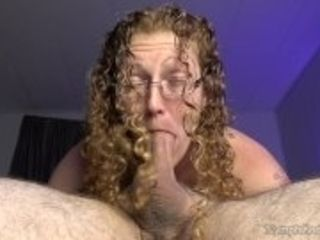 """""""Hubby gives natural redhead MILF Ivy a pulsating cum in mouth while 69'ing"""""""