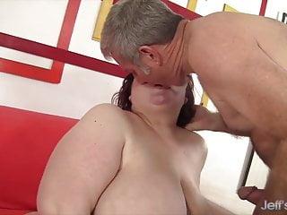 Jeffs Models - Big Tits BBW Mommy Stazi BJ Compilation 1