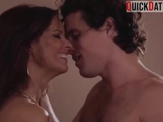 Mom groom boy toy to hump her right