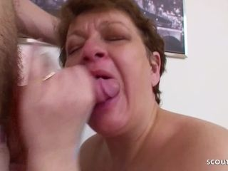 Step Son Wake up BBW Mom to get First Anal Sex with her