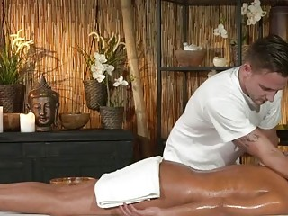 Massage Rooms Filthy cock hungry Milf gets the hard fucking she craved