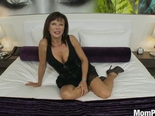 Super-steamy brunette female small stunner inhales rock-hard - high-definition