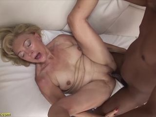 82 years old mom first rough interracial fucking