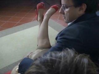 Mature Italian lady bondage porn video