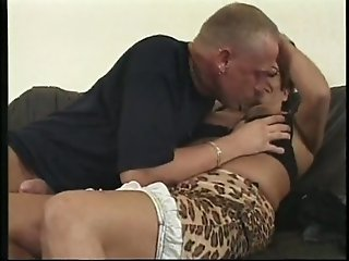Extremely fat brunette mommy banged hard and blasted with sperm