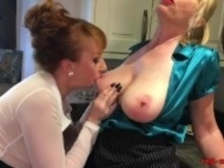 """Pastries and pussy licking in the kitchen with Red XXX"""