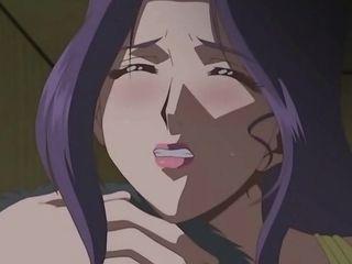 Cartoon hot MILF hentai gangbang video