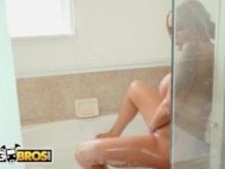 """""""BANGBROS - Logan Long Finds His BFF's Busty Mom Nina Elle Masturbating"""""""