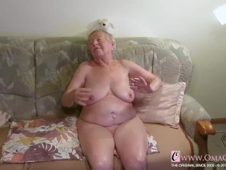 OmaGeiL almost Hundred Years elderly grannie bare