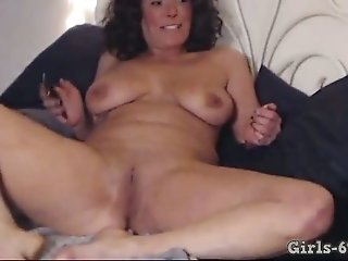 This lustful MILF loves nudity and she is so fucking confident